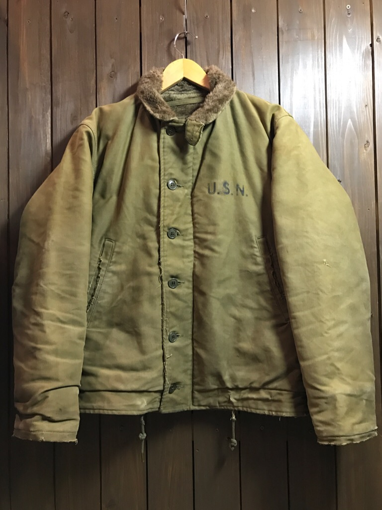 神戸店11/2(水)ヴィンテージ入荷!#1  USN Vintage!Indian Orange Flight Suit,N-1JKT!!!_c0078587_20104757.jpg