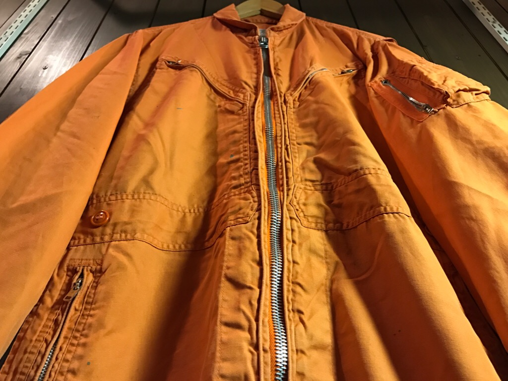 神戸店11/2(水)ヴィンテージ入荷!#1  USN Vintage!Indian Orange Flight Suit,N-1JKT!!!_c0078587_2216241.jpg
