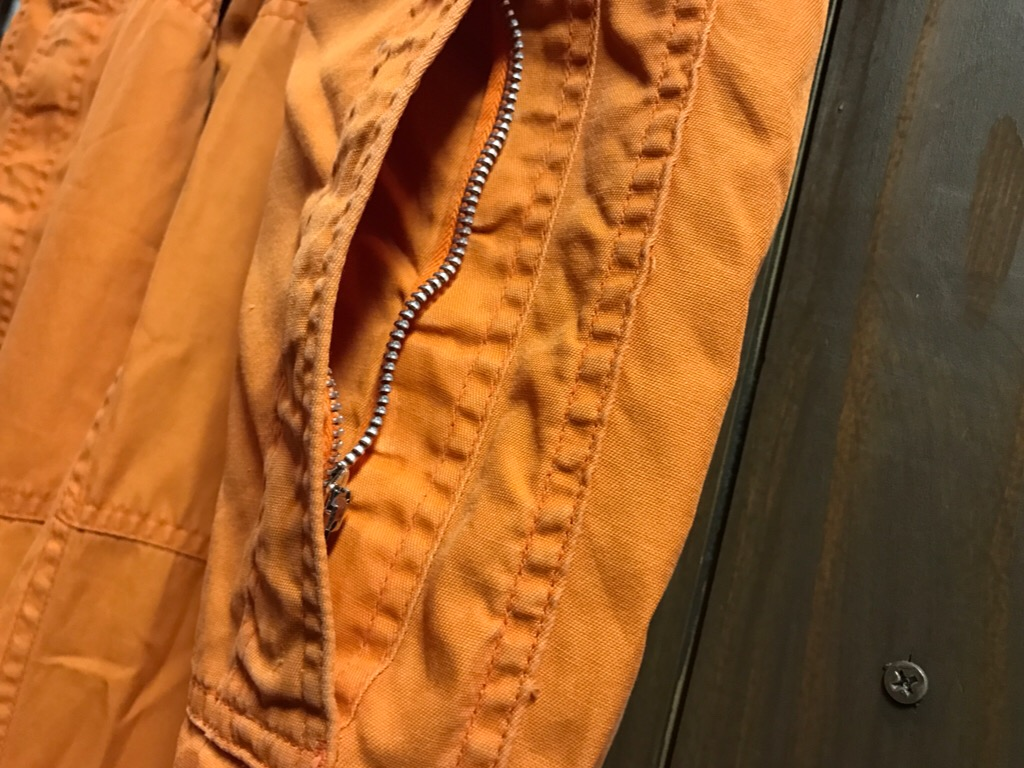 神戸店11/2(水)ヴィンテージ入荷!#1  USN Vintage!Indian Orange Flight Suit,N-1JKT!!!_c0078587_22182780.jpg