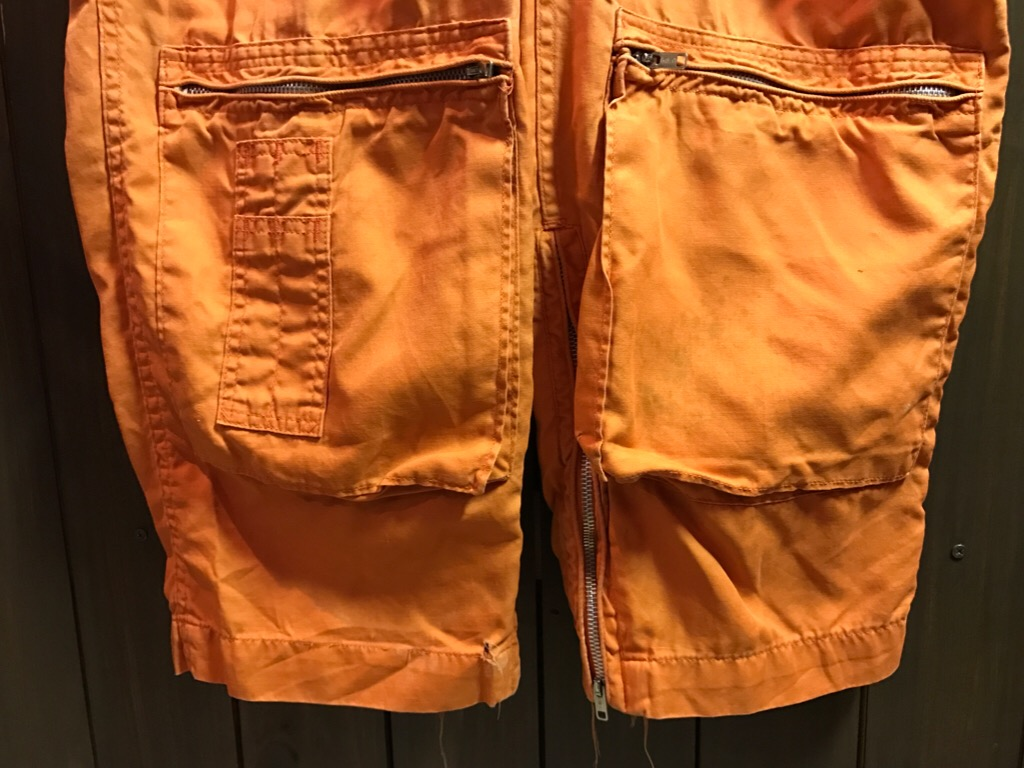 神戸店11/2(水)ヴィンテージ入荷!#1  USN Vintage!Indian Orange Flight Suit,N-1JKT!!!_c0078587_22184270.jpg