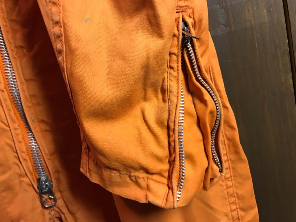 神戸店11/2(水)ヴィンテージ入荷!#1  USN Vintage!Indian Orange Flight Suit,N-1JKT!!!_c0078587_22193089.jpg