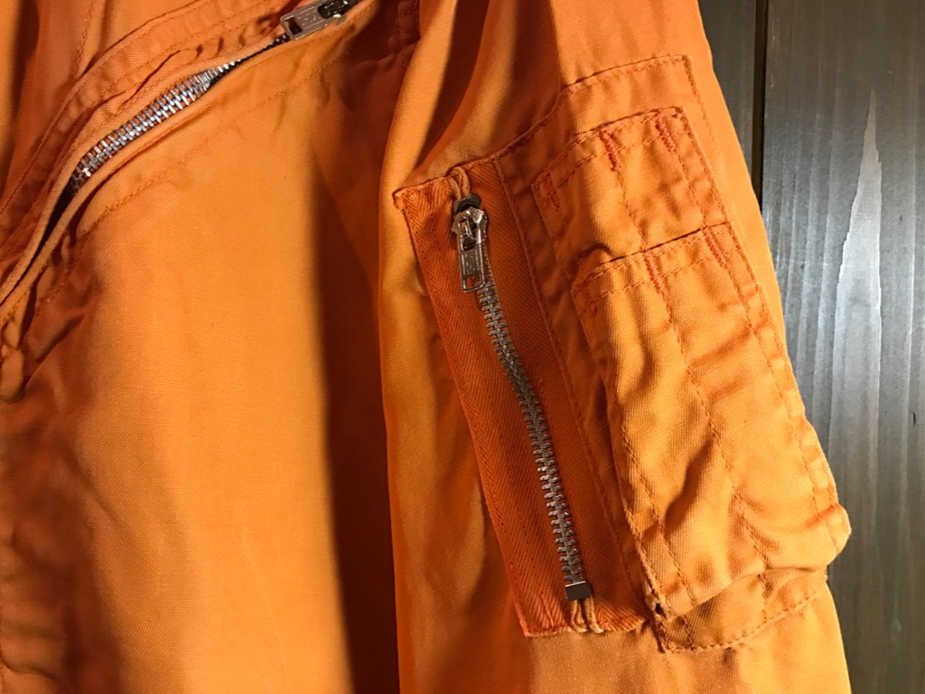 神戸店11/2(水)ヴィンテージ入荷!#1  USN Vintage!Indian Orange Flight Suit,N-1JKT!!!_c0078587_222026100.jpg