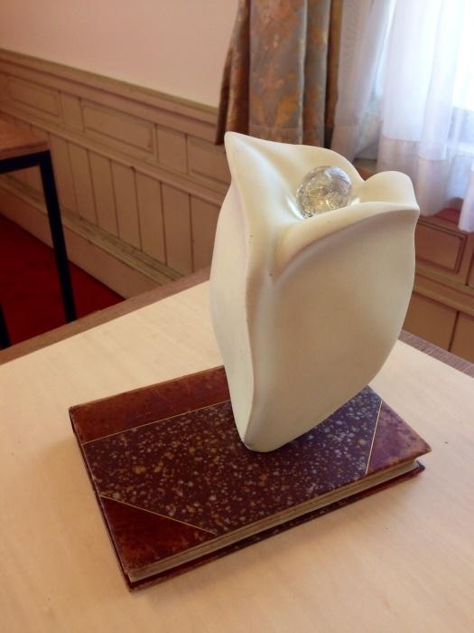 第11回秋の府庁旧本館彫刻展  最終日_c0100195_11184298.jpg