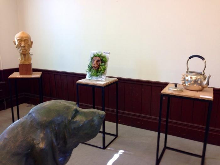 第11回秋の府庁旧本館彫刻展  最終日_c0100195_11270884.jpg