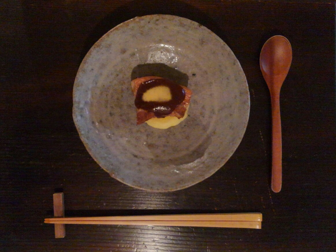 晩秋の八ヶ岳南麓+松本の旅路4 tadokorogaro+日本料理温石 編_f0351305_00362448.jpg