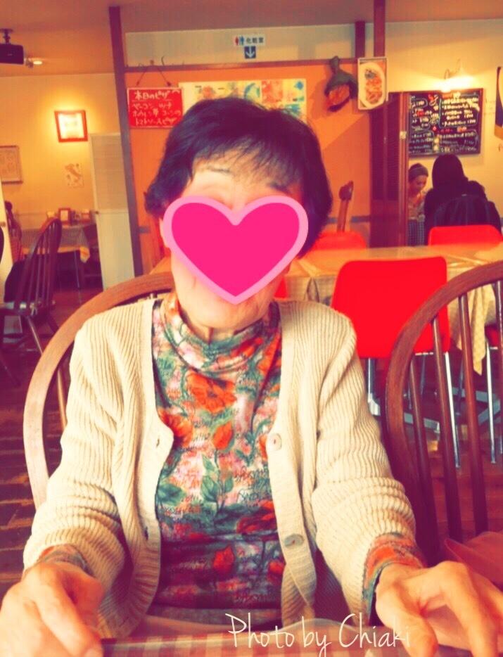 母と娘とランチ♪( ´θ`)ノ 母も私と同じパーソナルカラー「スプリング」です。_a0213806_17361649.jpg