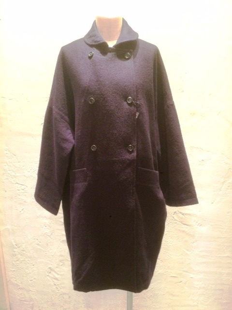 GRANDMA MAMA DAUGHTER Wool Roundcolor Coat_a0222424_17042745.jpeg