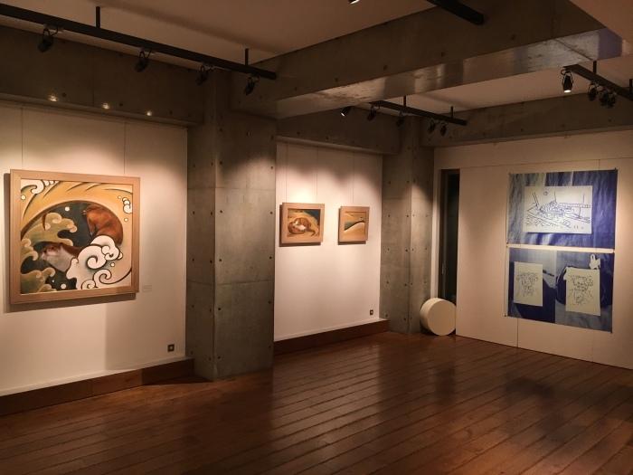 京都造形芸術大学 青木ゼミ生による展覧会_e0255740_17575205.jpg