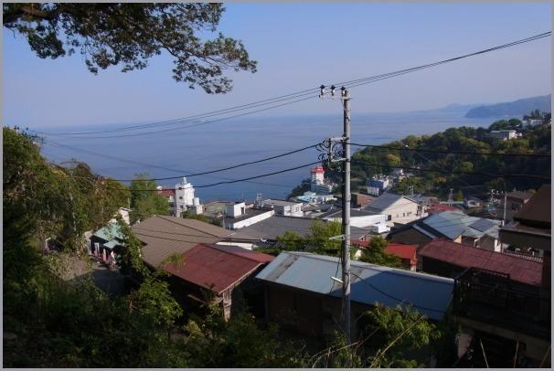 伊豆山神社からの風景&伊豆山港_a0086270_23002118.jpg
