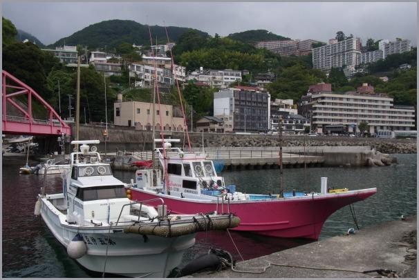 伊豆山神社からの風景&伊豆山港_a0086270_23031913.jpg