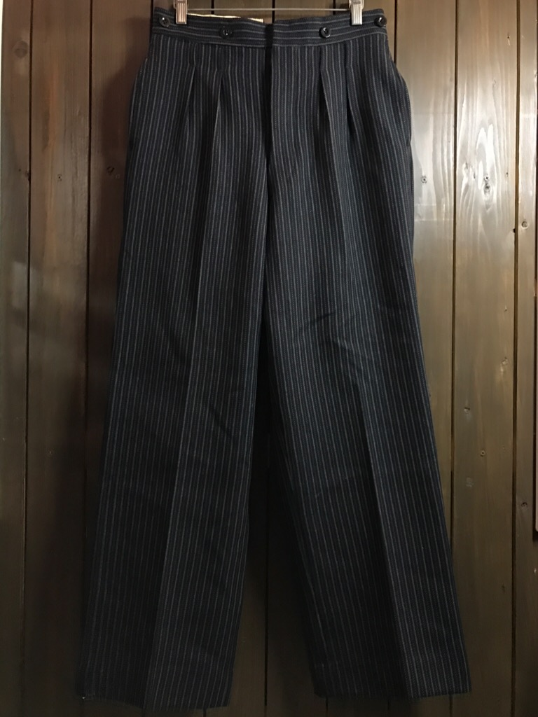神戸店11/2(水)ヴィンテージ入荷!#4 1920\'s Buckle Back Wool Slacks,Vintage Trad Item!!!_c0078587_16233821.jpg