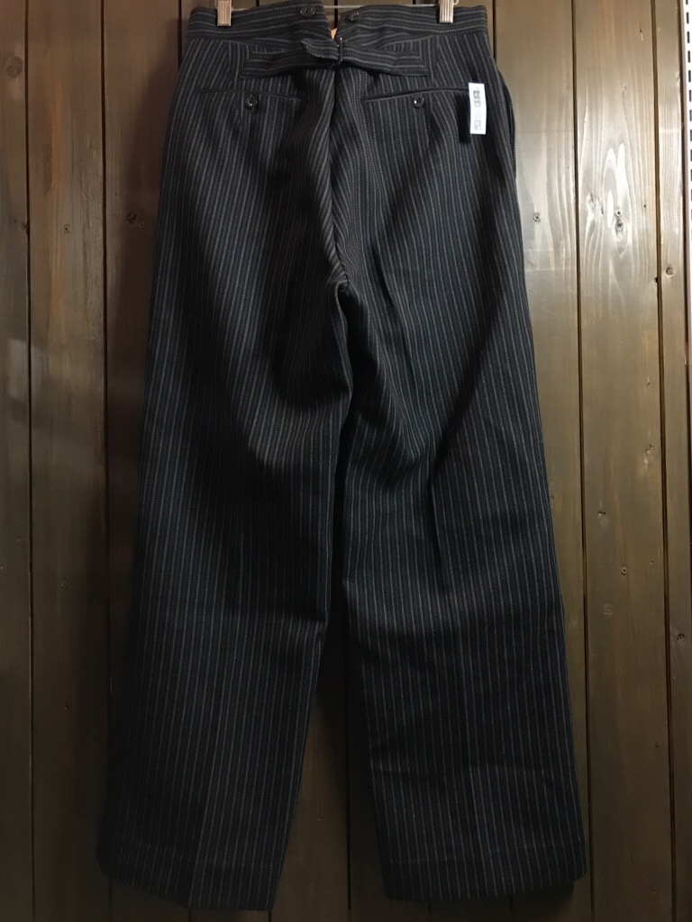 神戸店11/2(水)ヴィンテージ入荷!#4 1920\'s Buckle Back Wool Slacks,Vintage Trad Item!!!_c0078587_16235817.jpg