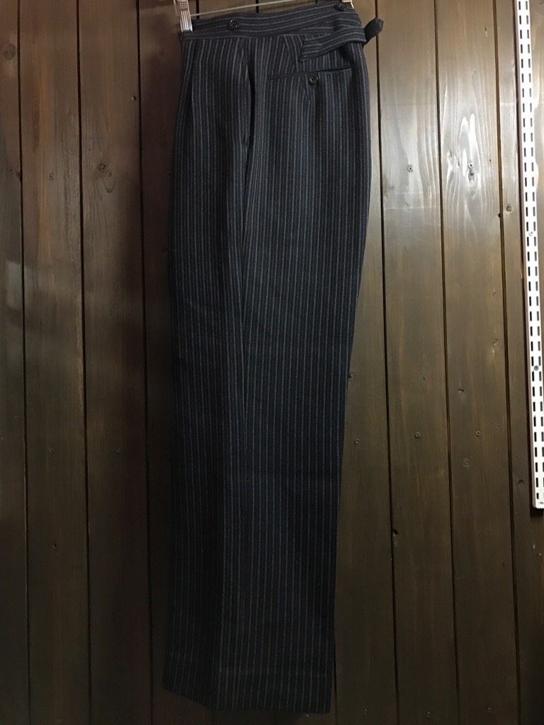 神戸店11/2(水)ヴィンテージ入荷!#4 1920\'s Buckle Back Wool Slacks,Vintage Trad Item!!!_c0078587_1624993.jpg