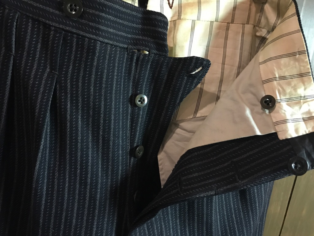 神戸店11/2(水)ヴィンテージ入荷!#4 1920\'s Buckle Back Wool Slacks,Vintage Trad Item!!!_c0078587_16253988.jpg