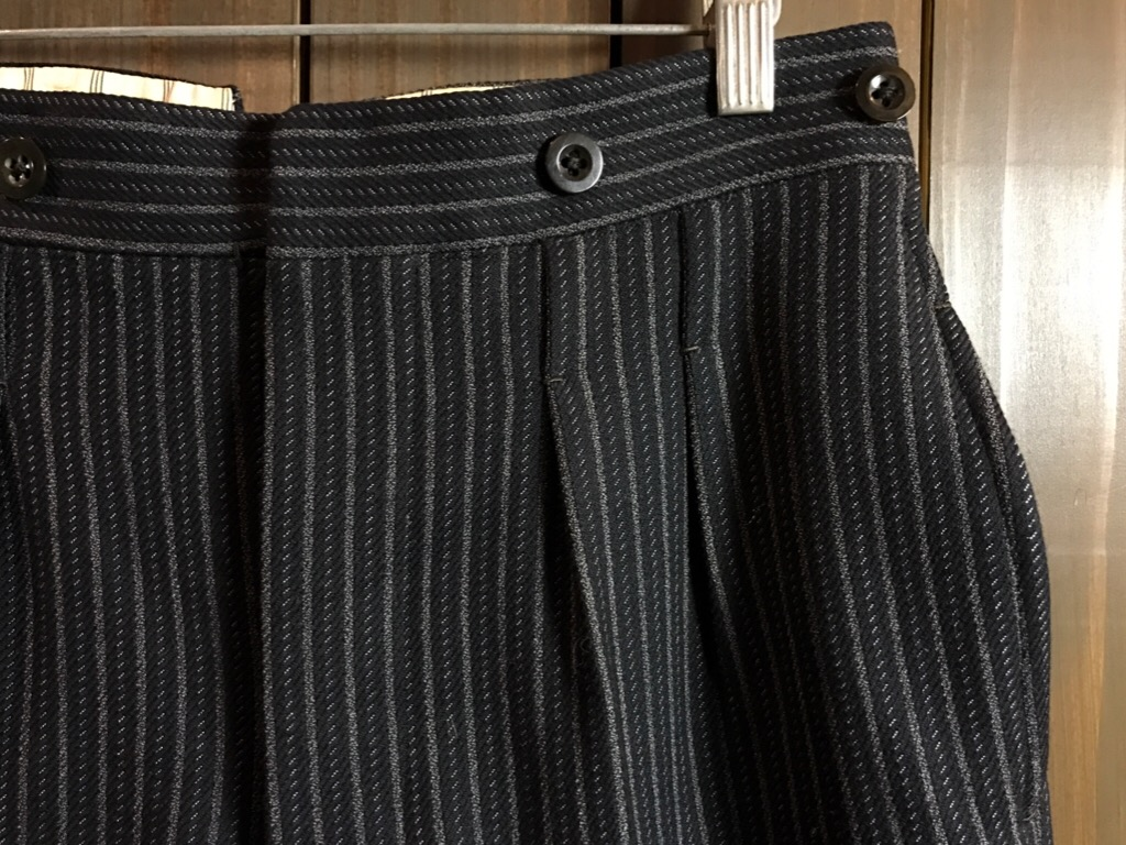 神戸店11/2(水)ヴィンテージ入荷!#4 1920\'s Buckle Back Wool Slacks,Vintage Trad Item!!!_c0078587_1626205.jpg