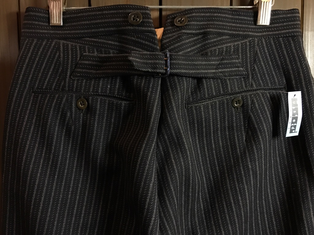 神戸店11/2(水)ヴィンテージ入荷!#4 1920\'s Buckle Back Wool Slacks,Vintage Trad Item!!!_c0078587_16264453.jpg