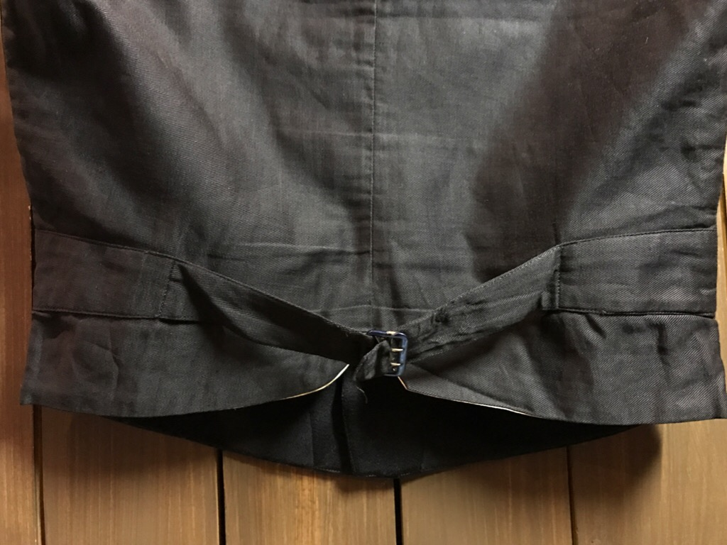 神戸店11/2(水)ヴィンテージ入荷!#4 1920\'s Buckle Back Wool Slacks,Vintage Trad Item!!!_c0078587_16295344.jpg