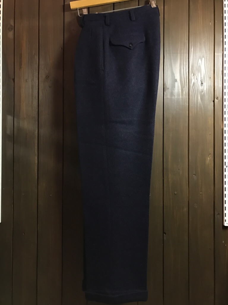 神戸店11/2(水)ヴィンテージ入荷!#4 1920\'s Buckle Back Wool Slacks,Vintage Trad Item!!!_c0078587_1711378.jpg