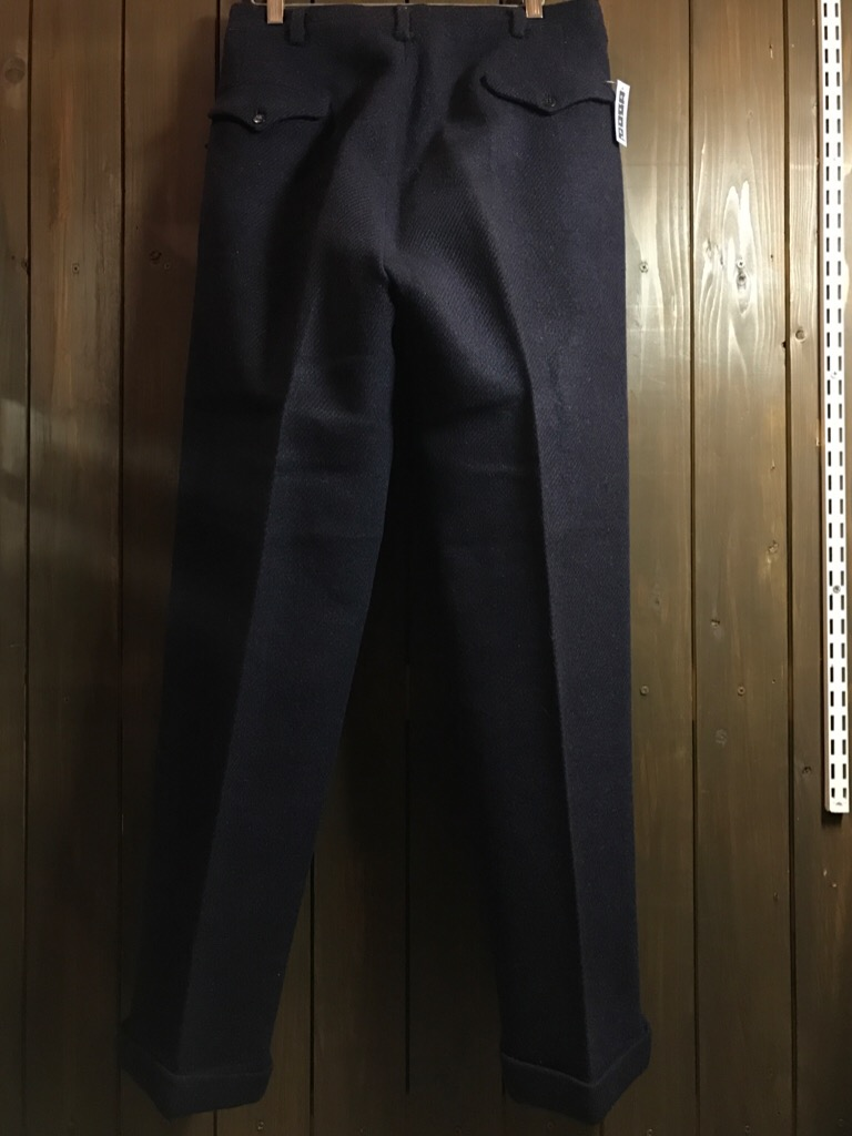 神戸店11/2(水)ヴィンテージ入荷!#4 1920\'s Buckle Back Wool Slacks,Vintage Trad Item!!!_c0078587_171191.jpg