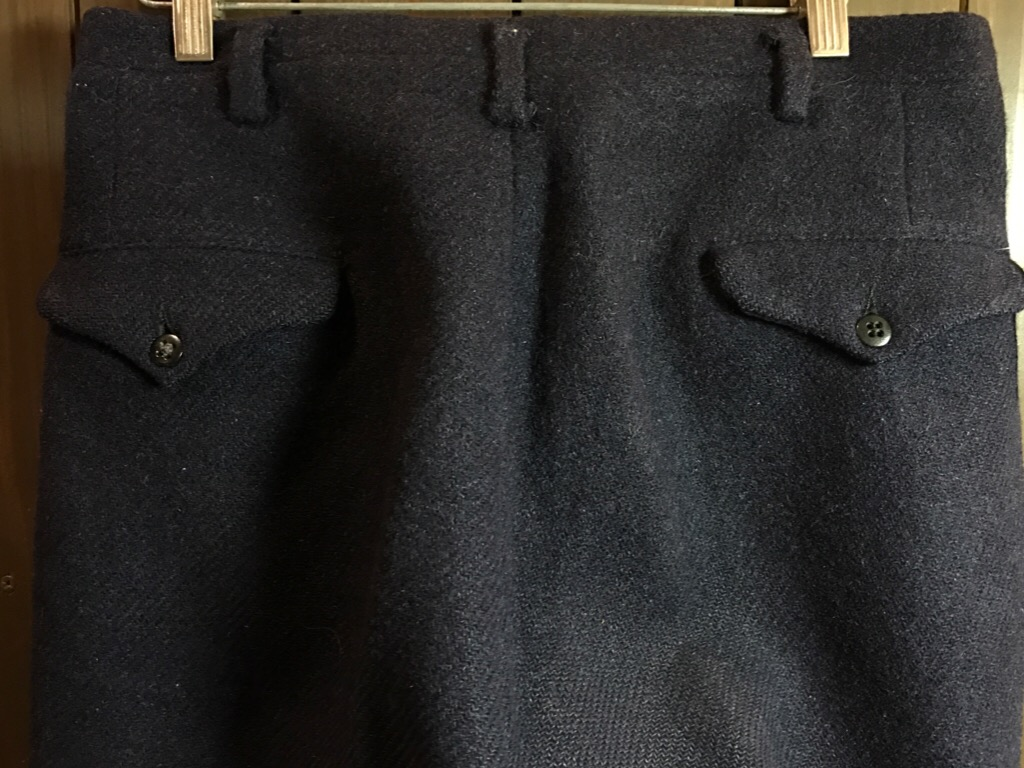 神戸店11/2(水)ヴィンテージ入荷!#4 1920\'s Buckle Back Wool Slacks,Vintage Trad Item!!!_c0078587_172371.jpg