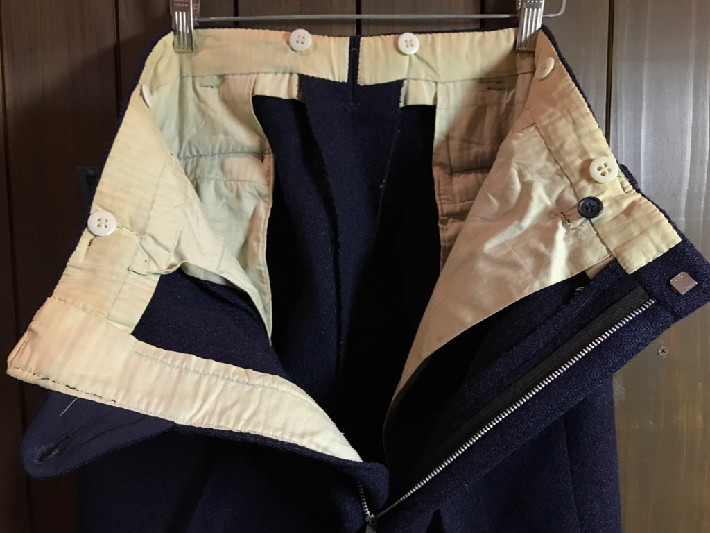 神戸店11/2(水)ヴィンテージ入荷!#4 1920\'s Buckle Back Wool Slacks,Vintage Trad Item!!!_c0078587_1732345.jpg