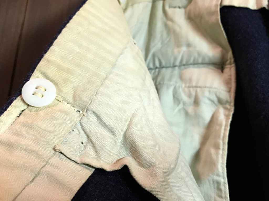 神戸店11/2(水)ヴィンテージ入荷!#4 1920\'s Buckle Back Wool Slacks,Vintage Trad Item!!!_c0078587_1733474.jpg