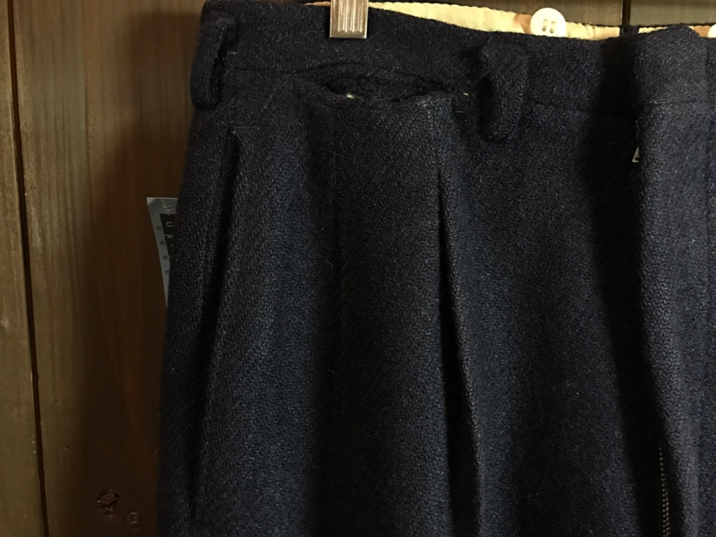 神戸店11/2(水)ヴィンテージ入荷!#4 1920\'s Buckle Back Wool Slacks,Vintage Trad Item!!!_c0078587_173952.jpg