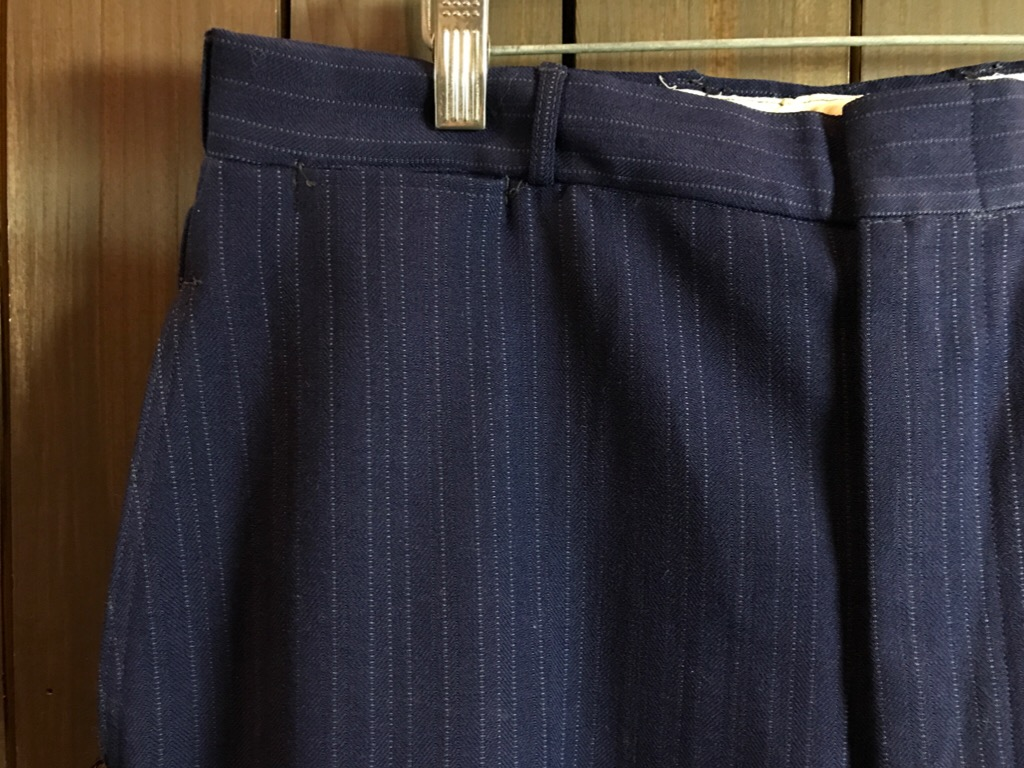 神戸店11/2(水)ヴィンテージ入荷!#4 1920\'s Buckle Back Wool Slacks,Vintage Trad Item!!!_c0078587_175187.jpg