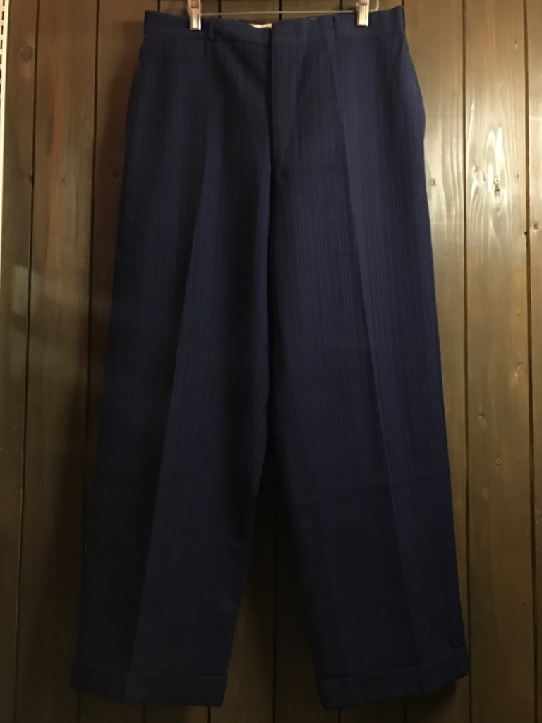 神戸店11/2(水)ヴィンテージ入荷!#4 1920\'s Buckle Back Wool Slacks,Vintage Trad Item!!!_c0078587_1753192.jpg