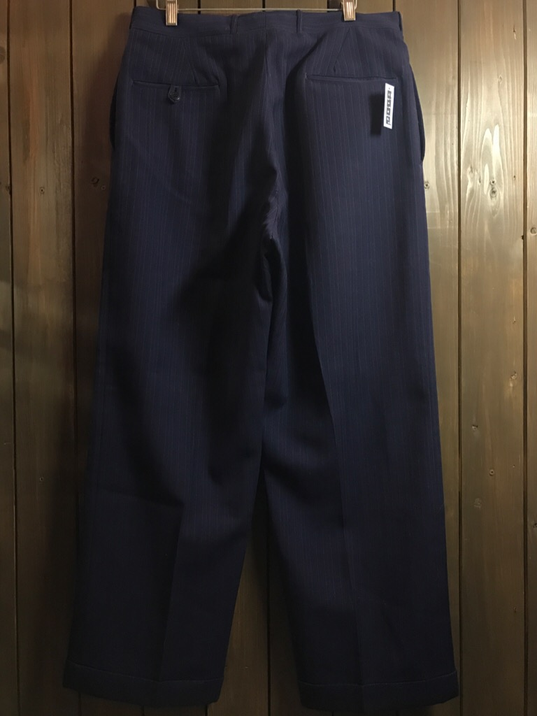 神戸店11/2(水)ヴィンテージ入荷!#4 1920\'s Buckle Back Wool Slacks,Vintage Trad Item!!!_c0078587_1754356.jpg