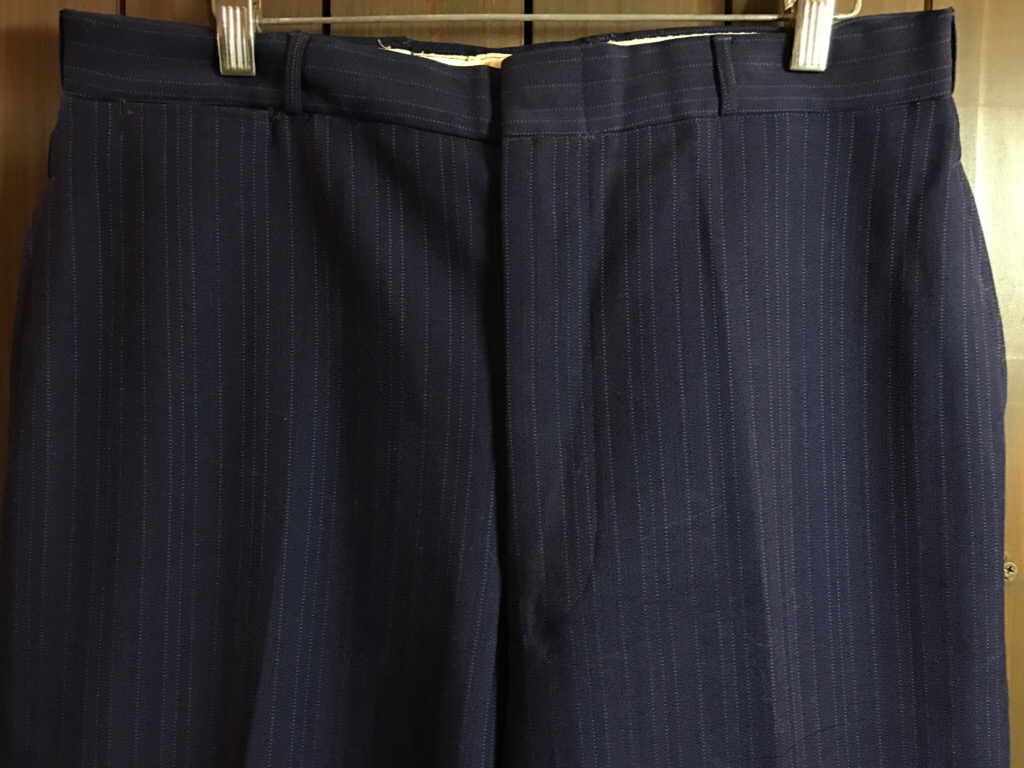 神戸店11/2(水)ヴィンテージ入荷!#4 1920\'s Buckle Back Wool Slacks,Vintage Trad Item!!!_c0078587_1763631.jpg