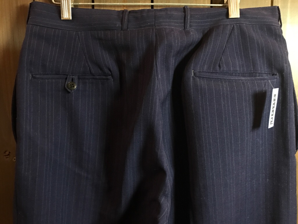 神戸店11/2(水)ヴィンテージ入荷!#4 1920\'s Buckle Back Wool Slacks,Vintage Trad Item!!!_c0078587_1764699.jpg