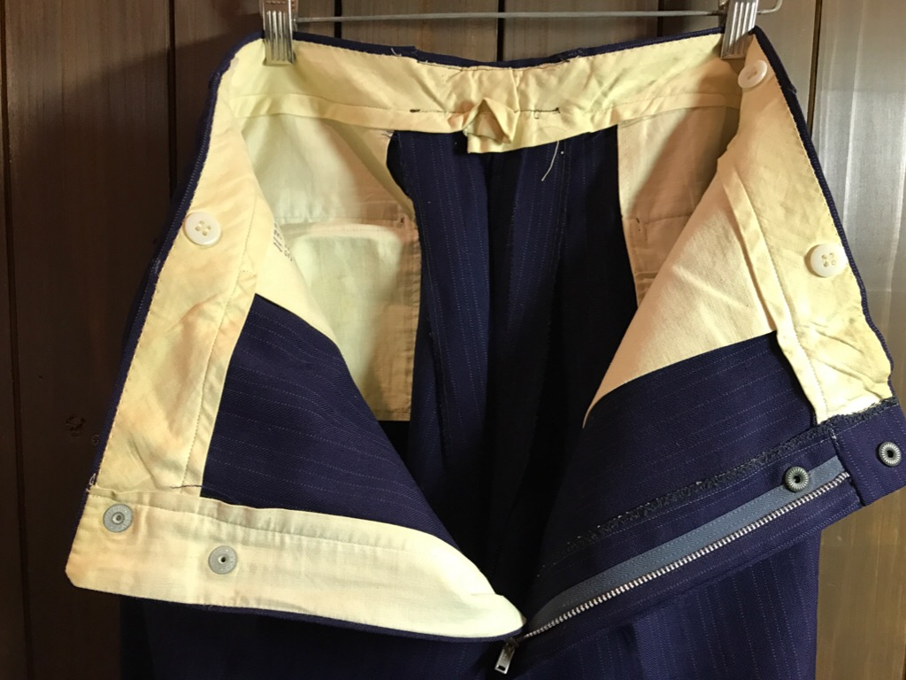 神戸店11/2(水)ヴィンテージ入荷!#4 1920\'s Buckle Back Wool Slacks,Vintage Trad Item!!!_c0078587_1772082.jpg