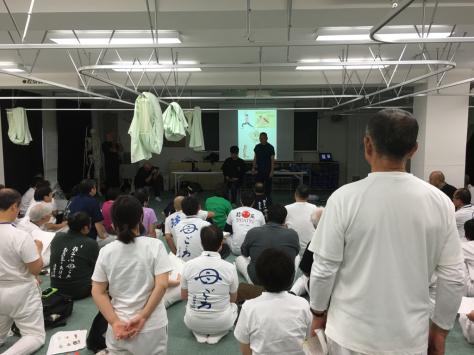 浪越学園・日本指圧専門学校 同窓会 指圧実技研修会。_a0112393_20021032.jpg