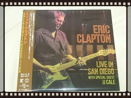 ERIC CLAPTON / LIVE IN SAN DIEGO WITH SPECIAL GUEST JJ CALE_b0042308_13324298.jpg