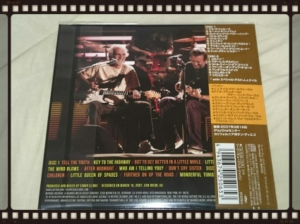 ERIC CLAPTON / LIVE IN SAN DIEGO WITH SPECIAL GUEST JJ CALE_b0042308_13325864.jpg