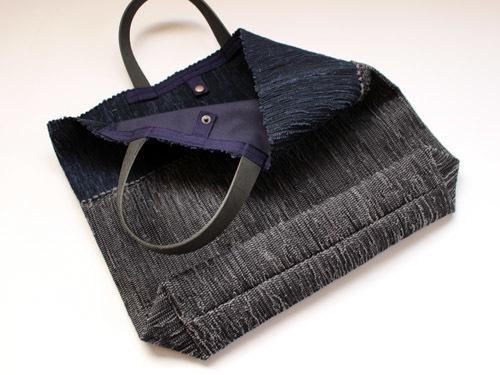薄井ゆかりさんの裂き織りバッグが入荷しました!_a0026127_15270559.jpg