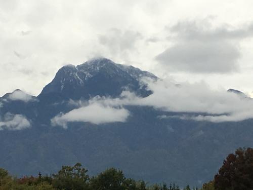 初冠雪、甲斐駒ヶ岳11月1日_d0338282_15503632.jpg