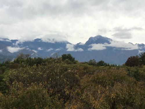 初冠雪、甲斐駒ヶ岳11月1日_d0338282_15503891.jpg