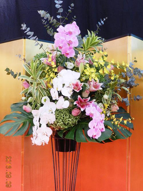 式典用スタンド花_a0302448_916878.jpg