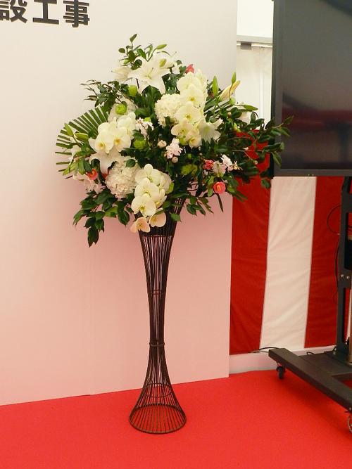 式典花 椿を使用して_a0302448_9463214.jpg