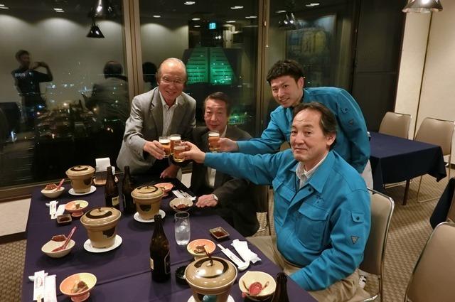 株式会社ヤマイシの美味しいホタテ料理をホテルサンルート青森で満喫、素敵な仲間に乾杯!!美味しい食品が生まれる理由_d0181492_23510633.jpg
