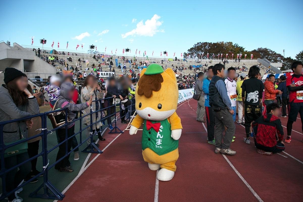 第26回ぐんまマラソン「ご当地キャラハイタッチ隊」_a0243720_23511591.jpg