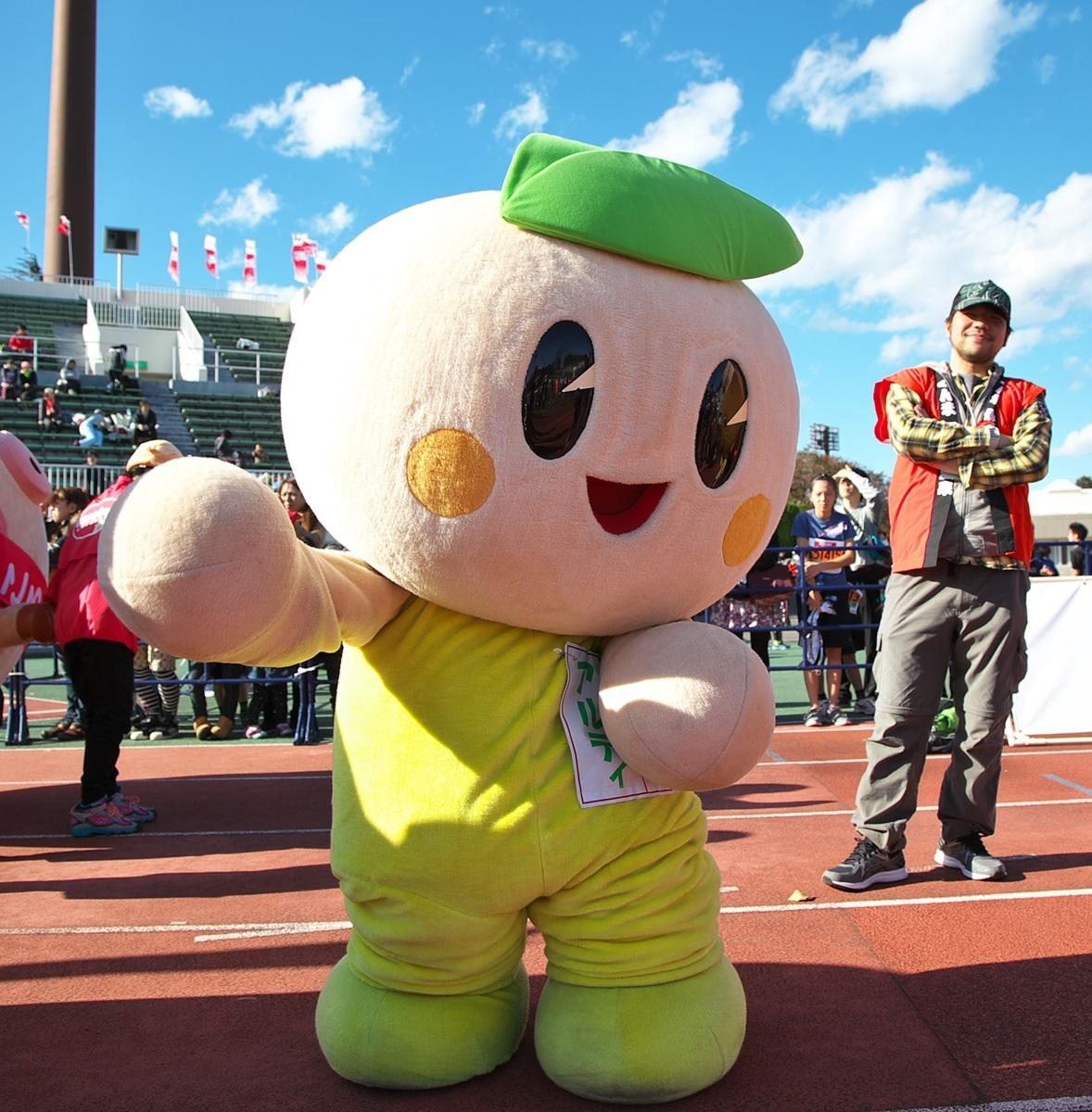 第26回ぐんまマラソン「ご当地キャラハイタッチ隊」_a0243720_23521227.jpg