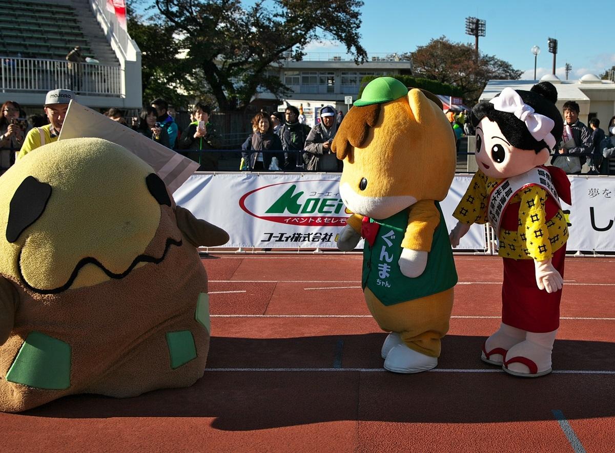 第26回ぐんまマラソン「ご当地キャラハイタッチ隊」_a0243720_23560550.jpg