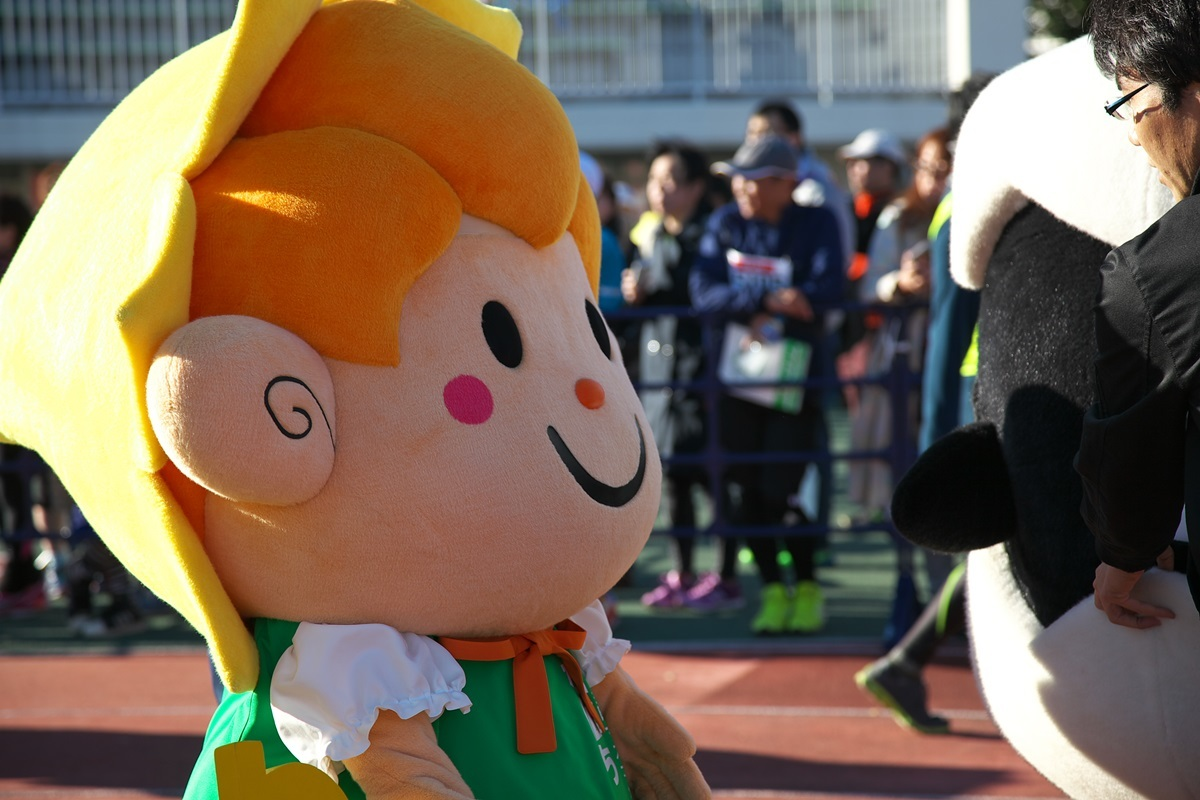 第26回ぐんまマラソン「ご当地キャラハイタッチ隊」_a0243720_23565638.jpg