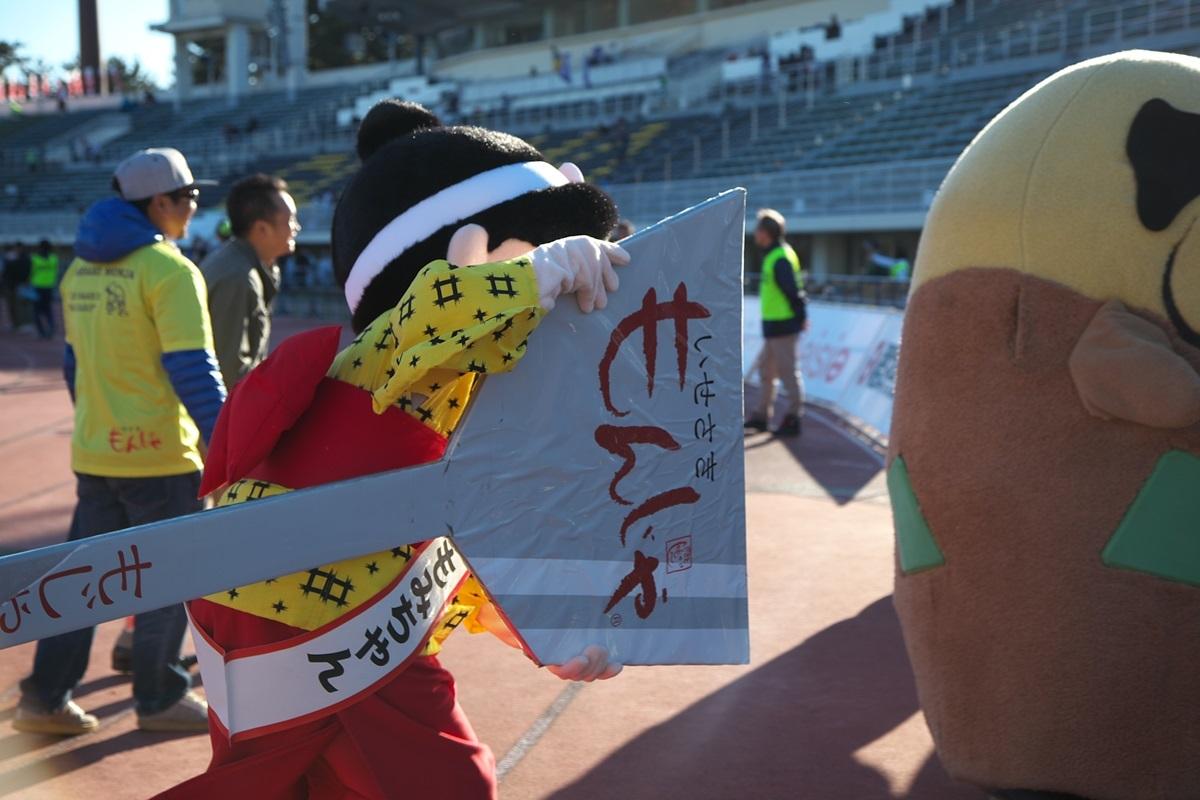 第26回ぐんまマラソン「ご当地キャラハイタッチ隊」_a0243720_23574945.jpg