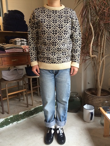 NOR\'EASTERLY : L/S CREW SNOW PATTERN_a0234452_218728.jpg