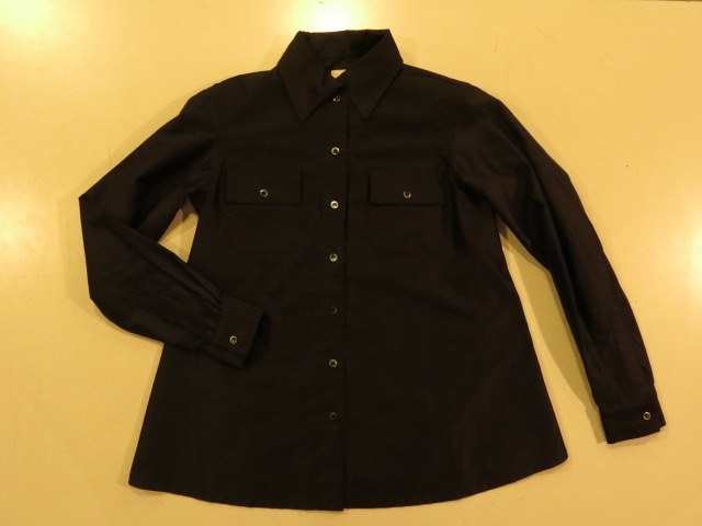 """SOURCE-TAP × TheThreeRobbers #EarlyCentury BUTCHER SHIRT WOMAN - ORDER\""ってこんなこと。_c0140560_12281630.jpg"