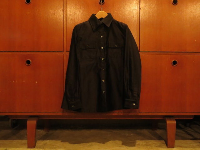 """SOURCE-TAP × TheThreeRobbers #EarlyCentury BUTCHER SHIRT WOMAN - ORDER\""ってこんなこと。_c0140560_12285837.jpg"